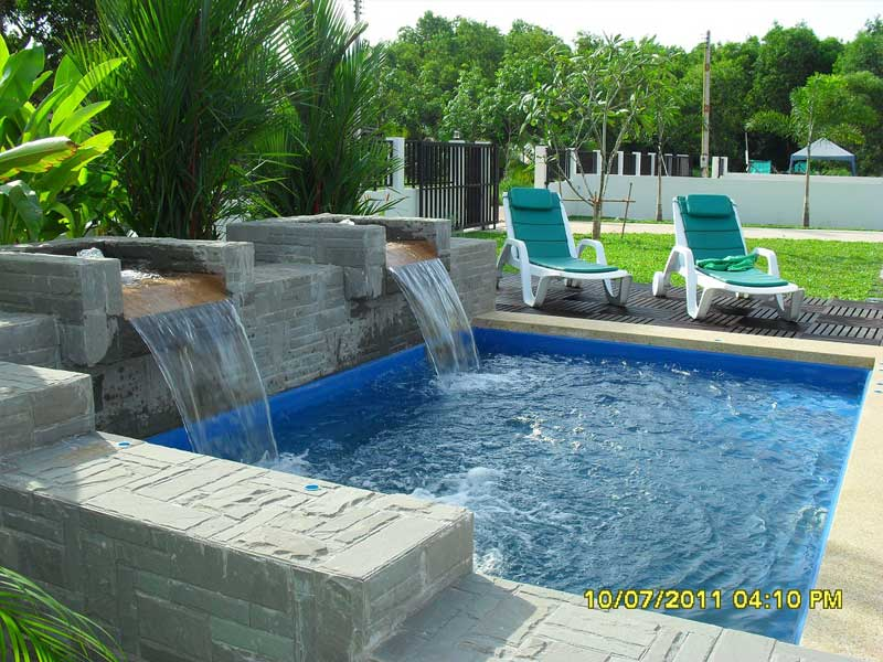 Fibreglass Shell Pools Splash Pools