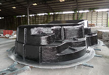 production of the palm cove fibreglass swimming pool in splash pools factory rayong thailand