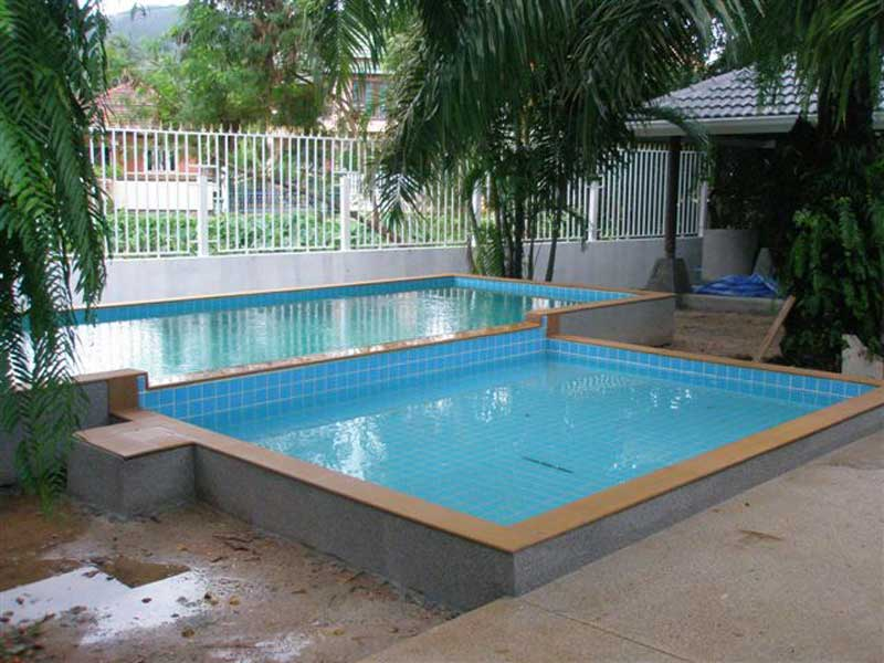 Semi above ground pools pictures to pin on pinterest for Above ground pool decks nj